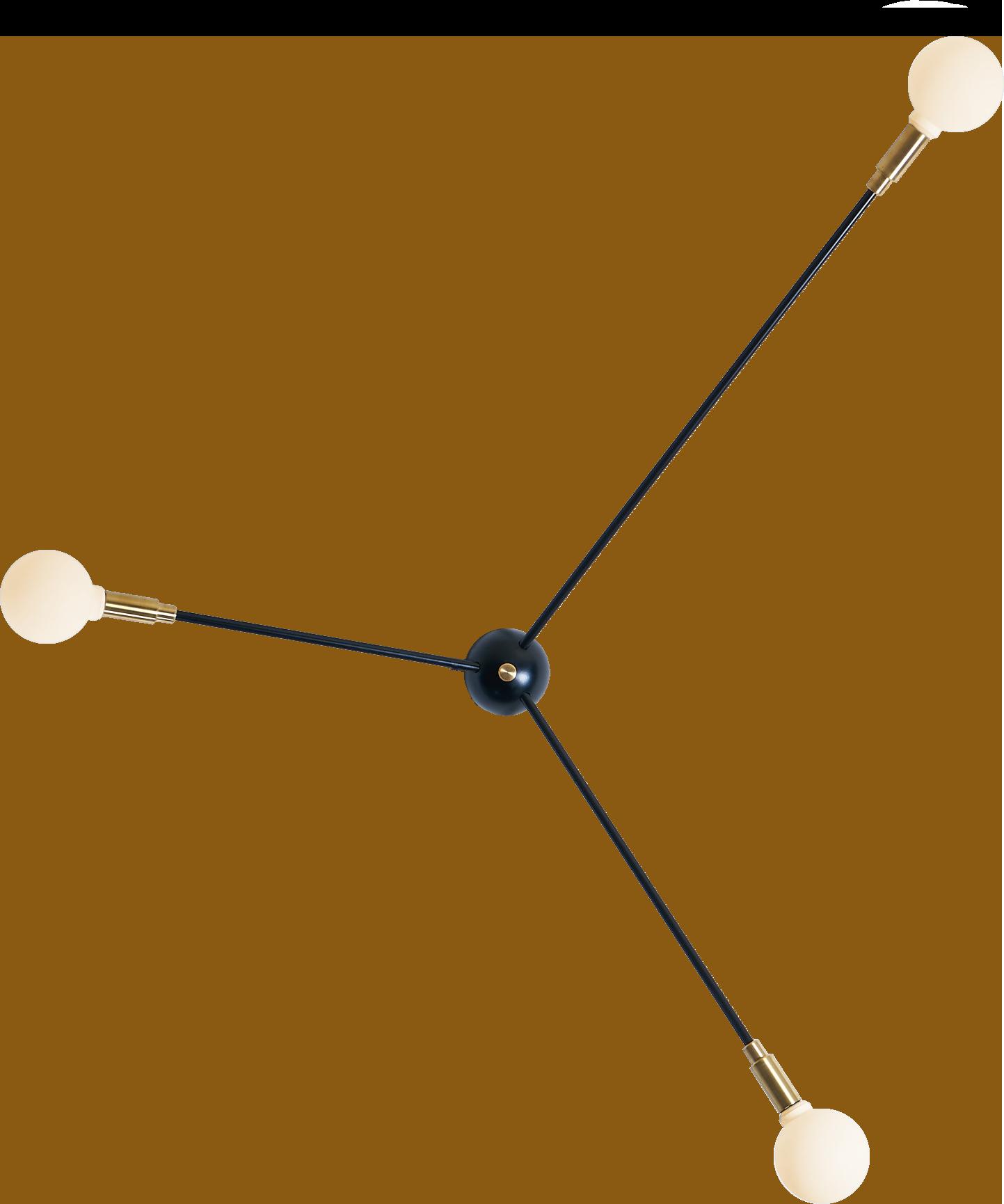 Applique ou plafonnier Atome